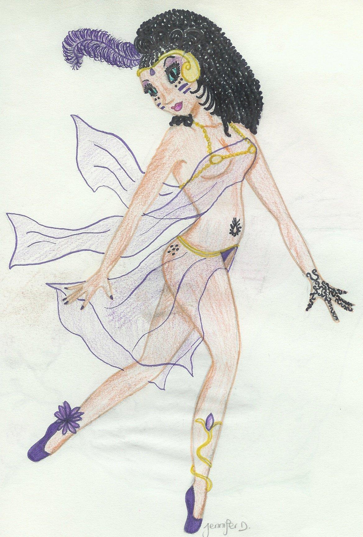 Danseuse exotique